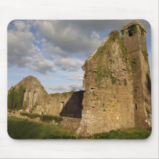 Quin Abbey church Mouse Pad