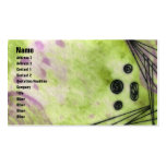 Quin - Green Double-Sided Standard Business Cards (Pack Of 100)