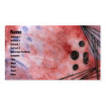 Quin - Red Double-Sided Standard Business Cards (Pack Of 100)