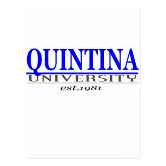 quin. univ tarjetas postales