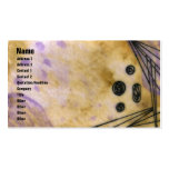 Quin - Yellow Double-Sided Standard Business Cards (Pack Of 100)