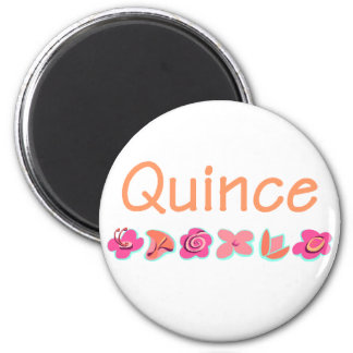Quince 2 Inch Round Magnet