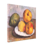 Quince, Apples and Pears by Paul Cezanne Canvas Print