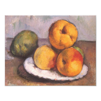 Quince, Apples and Pears by Paul Cezanne Card