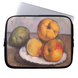 Quince, Apples and Pears by Paul Cezanne Computer Sleeve