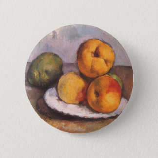 Quince, Apples and Pears by Paul Cezanne Pinback Button