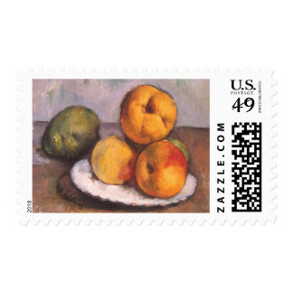 Quince, Apples and Pears by Paul Cezanne Postage