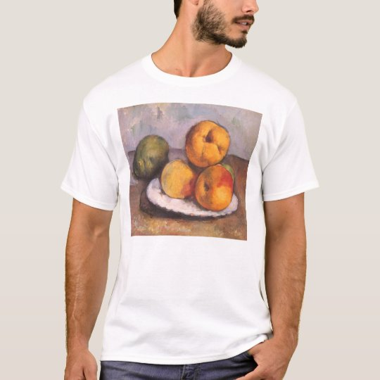 Quince, Apples and Pears by Paul Cezanne T-Shirt