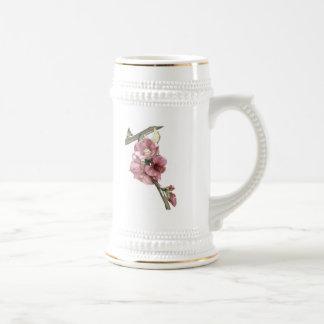 Quince Floral Art Steins Mug