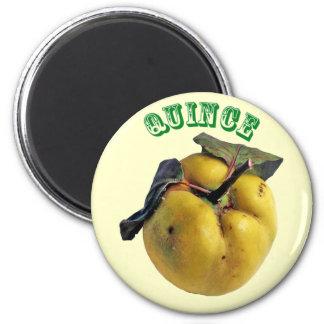 Quince - (Fridge Magnet Round)