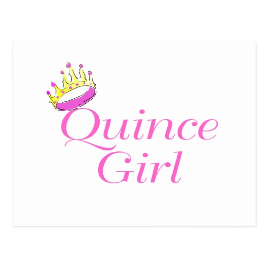 Quince Girl Postcard