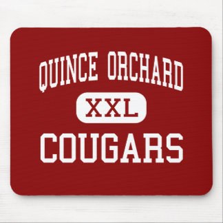 Quince Orchard - Cougars - High - Gaithersburg Mouse Pad