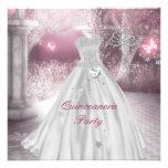 Quinceanera 15th Birthday Party Custom Invites