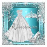 Quinceanera 15th Elite Elegant Birthday Party Custom Invitations