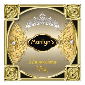 Quinceañera Birthday Party 15th Card