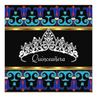 Quinceañera Birthday Party Retro Personalized Invitation