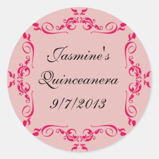 Quinceanera Custom Stickers