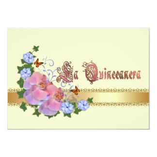 Quinceanera invitation 15th Birthday elegant