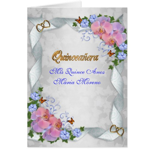 Custom Made Quinceanera Invitations with nice invitations example