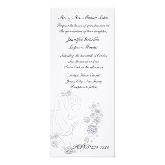 Quinceanera Invitation or Sweet 16 Birthday Party