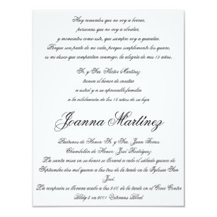 Spanish quinceaera invitations zazzle quinceanera invitations in spanish 425 x 55 filmwisefo