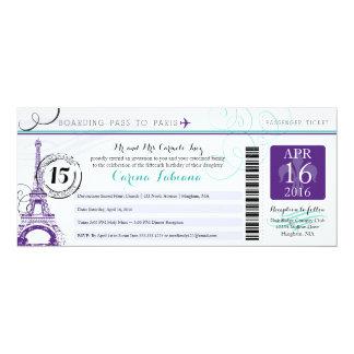 Quinceanera | Paris Custom Announcement