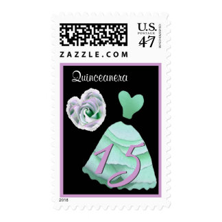 QUINCEANERA - QUINCE Birthday MINT GREEN Gown Postage