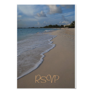 Quinceanera RSVP Guest Reply Card