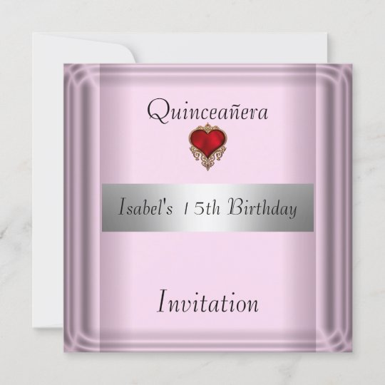 Quinceanera sweet 15 invitation save the date zazzle quinceanera sweet 15 invitation save the date stopboris Gallery