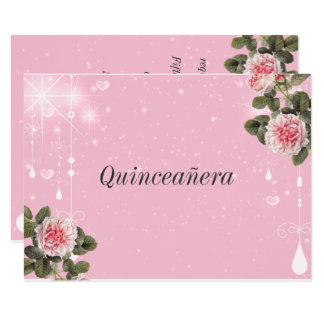 Quinceanera, Sweet Sixteen, Bat Mitzvah Invitation