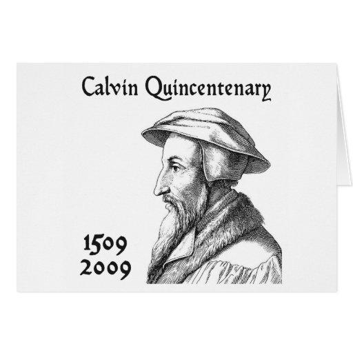 Quincentenary de Calvin Felicitaciones