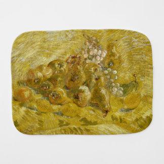 Quinces Lemons Pears Grapes by Van Gogh Burp Cloth