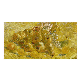 Quinces Lemons Pears Grapes by Van Gogh Card