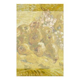 Quinces Lemons Pears Grapes by Van Gogh Flyer