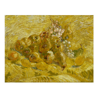 Quinces Lemons Pears Grapes by Van Gogh Postcard
