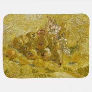 Quinces Lemons Pears Grapes by Van Gogh Stroller Blanket