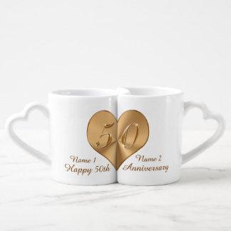 Quincuagésimas tazas personalizadas de los amantes taza amorosa