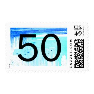 Quincuagésimo sello del cumpleaños
