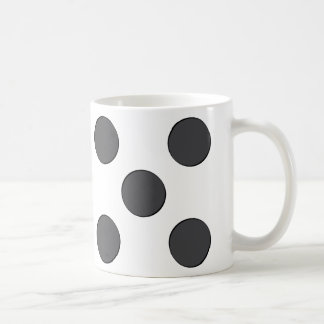 Quincunx DarkGrey Dots Coffee Mug