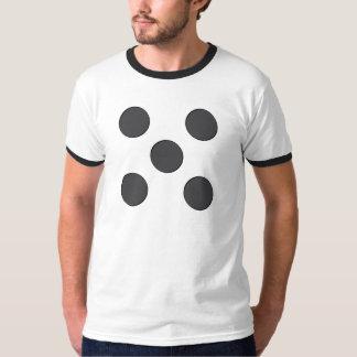 Quincunx DarkGrey Dots T-shirt