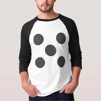 Quincunx DarkGrey Dots Tee Shirt