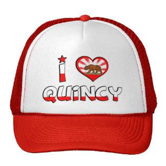 Quincy, CA Trucker Hat