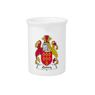 Quincy Family Crest Pitchers
