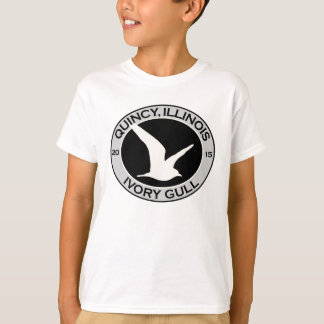 Quincy, Illinois 2015 Ivory Gull T-Shirt