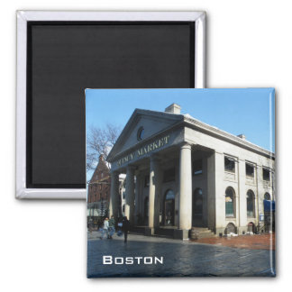 Quincy Market 2 Inch Square Magnet