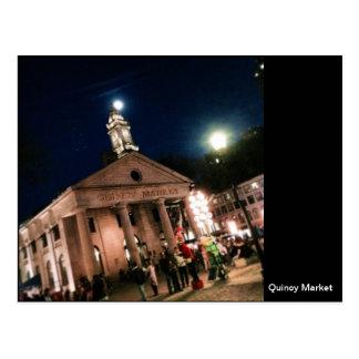 Quincy Market Boston, MA Postcard