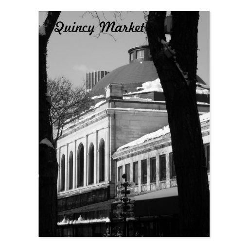 Quincy Market Post Card