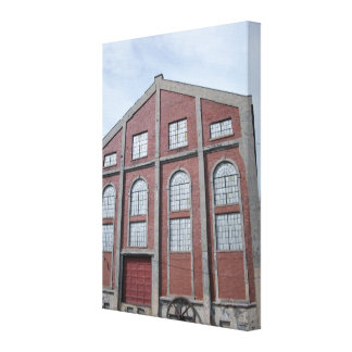 Quincy Mine No. 2 Hoist House Canvas Print