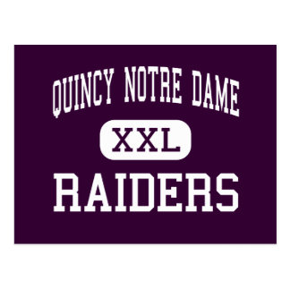 Quincy Notre Dame - Raiders - High - Quincy Postcard