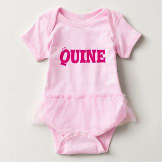 Quine (chica) Babygrow - dórico Playera
